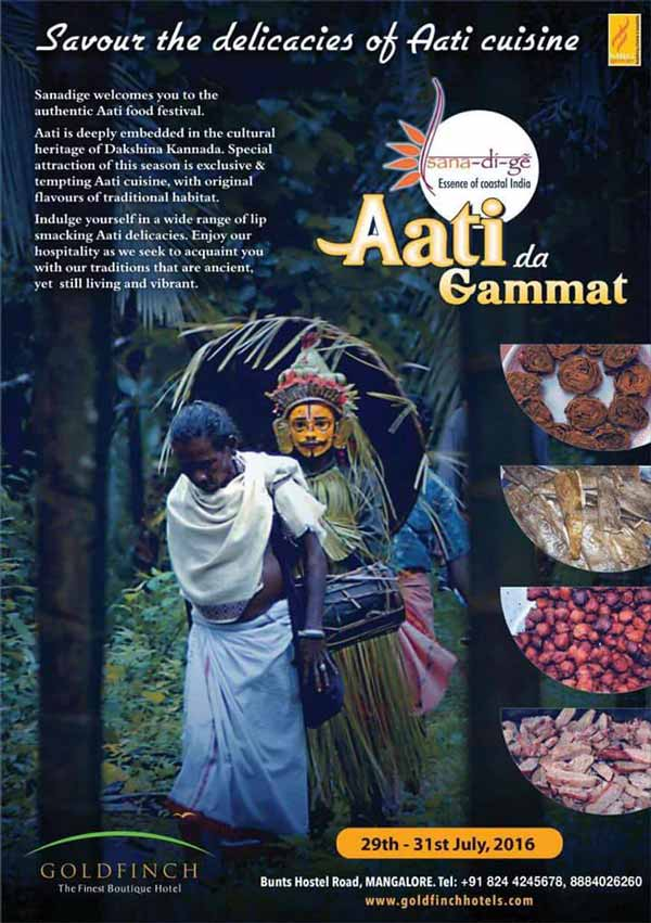 Aati da Gammat - July 2016 - Aati Cusisine - Goldfinch, Mangalore