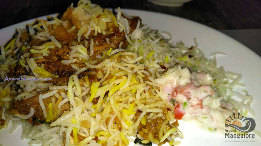 Chicken Biryani - Town Tables Restaurant, Attavar Road, Mangalore