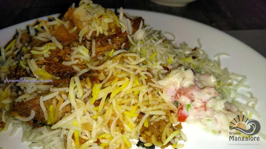 Chicken Biryani - Town Tables Restaurant, Attavar Road, Mangalore