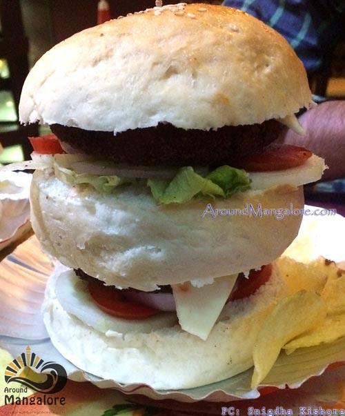 Double Decker Cheese Burger - Snackies - Falnir, Mangalore