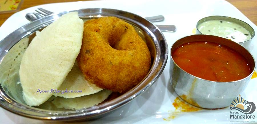 Idli Vada - Kudla Veg Restaurant - Balmatta, Mangalore