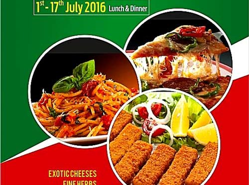 Italian Food Festival - Jul 2016 - Coral Restaurant, The Ocean Pearl, Mangalore