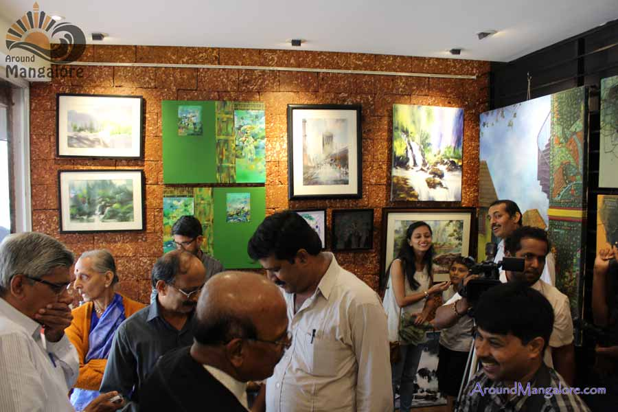 Mungaru – Splash of Colours n Art Reach – Jul 2016 S Cube Art Gallery Mannagudda Mangalore P1 - Mungaru & Art Reach at S Cube Art Gallery, Mannagudda - 23 to 30 Jul 2016
