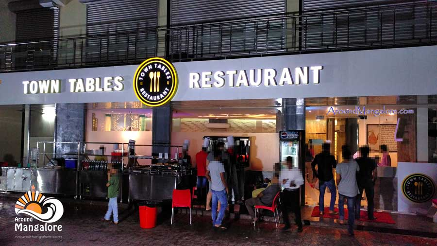 Town Tables Restaurant, Attavar Road, Mangalore