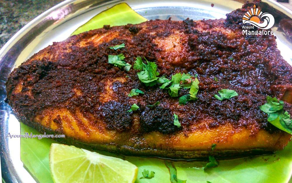Anjal Fry - Macchhi – Kudla Style Family Restaurant - Attavar, Mangalore