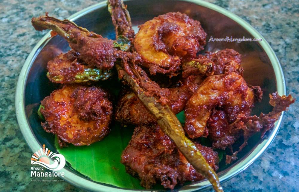 Prawns Fry - Macchhi – Kudla Style Family Restaurant - Attavar, Mangalore
