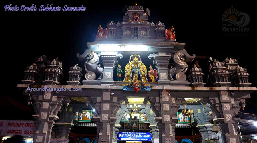 Sri Krishna Matha, Udupi - Temple - Around Mangalore