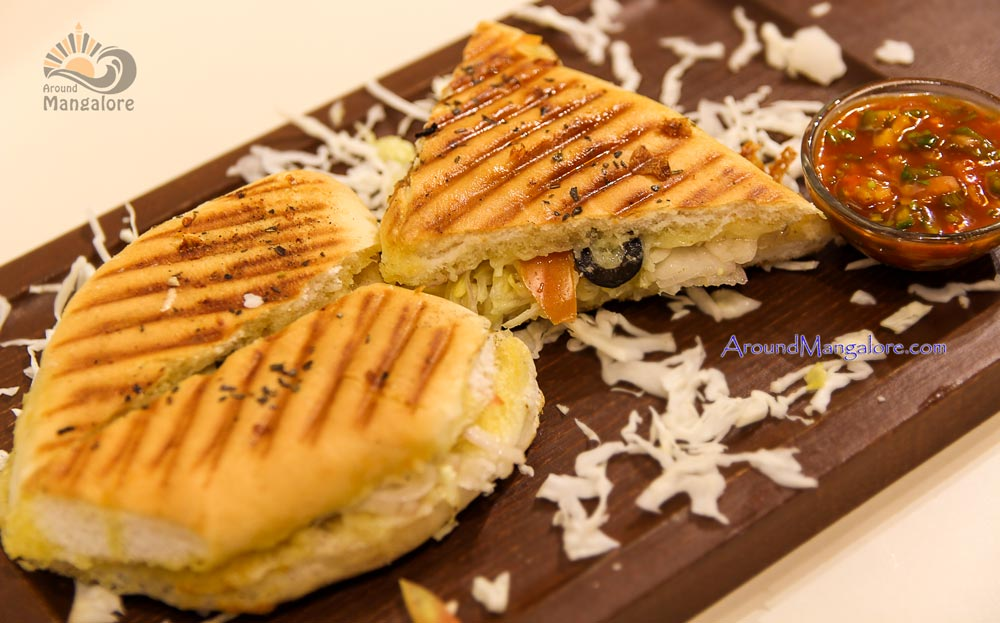 Greek Focaccia - The Chocolate Room, Mangalore