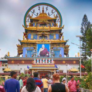 Namdroling Monastery - Coorg - AroundMangalore.com - Around Mangalore
