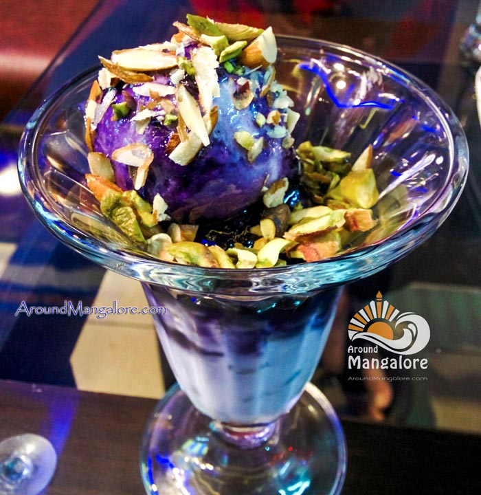 Deep Purple - Cream Bell Shoppe - Stone Ice Cream Parlour - AroundMangalore.com - Mangalore