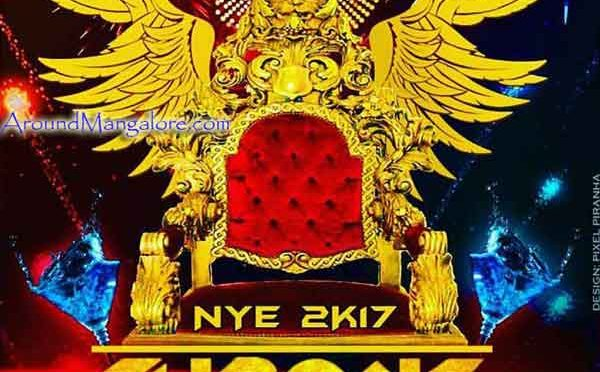 NYE 2K17 - Throne - 2 Acres, Bondel, Mangalore - New Year 2017