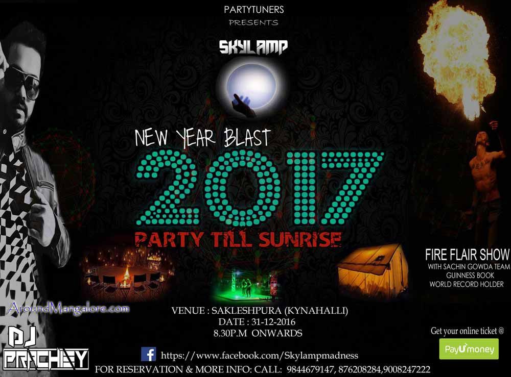 New Year Blast 2017 - 31 Dec 2016 - Sakleshpur (Kynahalli) - AroundMangalore.com