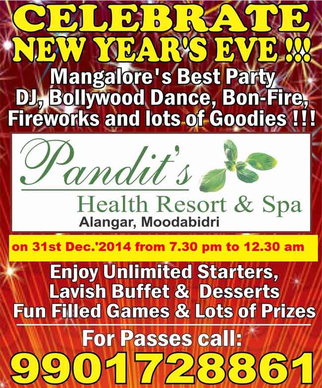 Pandit's Health Resort & Spa - Alangar, Moodabidri, Mangalore