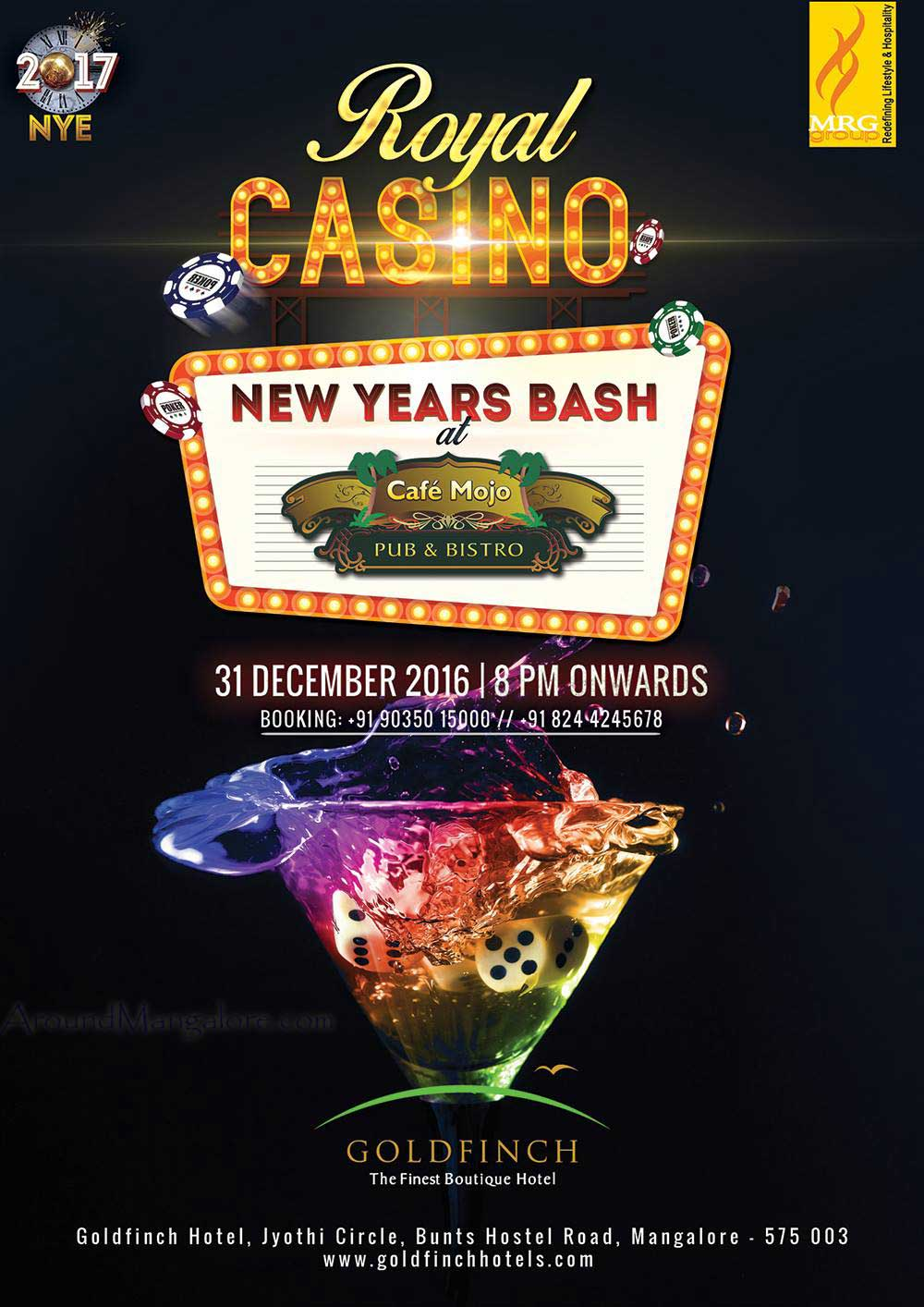 Royal Casino - Cafe Mojo - New Year 2017