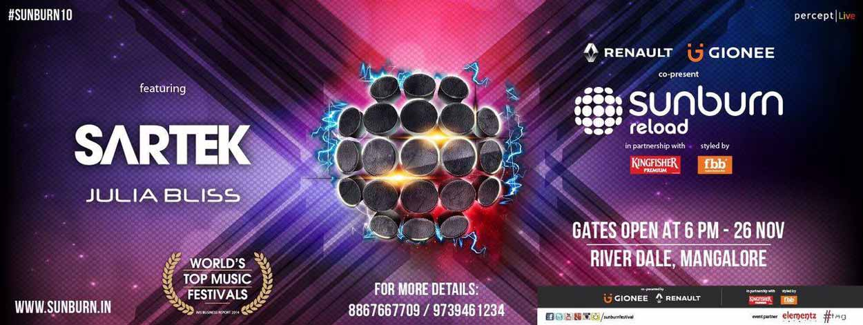 Sunburn Reloaded - 26 Nov 2016 - River Dale, Mangalore