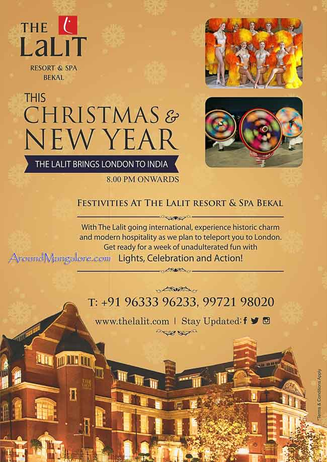 The Lalit - Resort & SPA, Bekal - New Year 2017