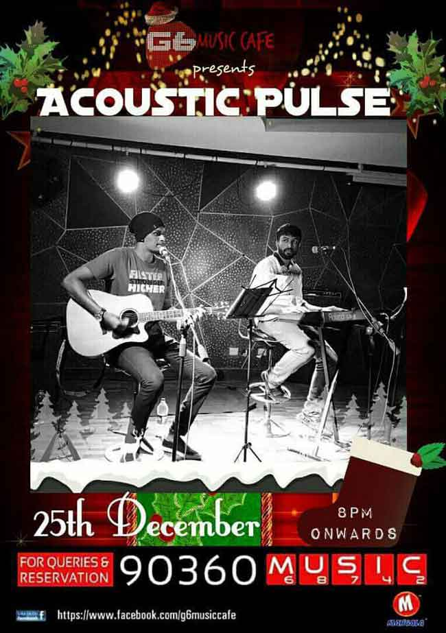 Acoustic Pulse - 25 Dec 2016 - Music Cafe, Mangalore