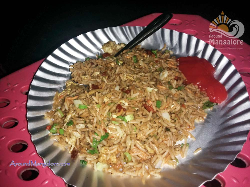 Chicken Fried Rice - Kiny's Food Truck - Mangalore