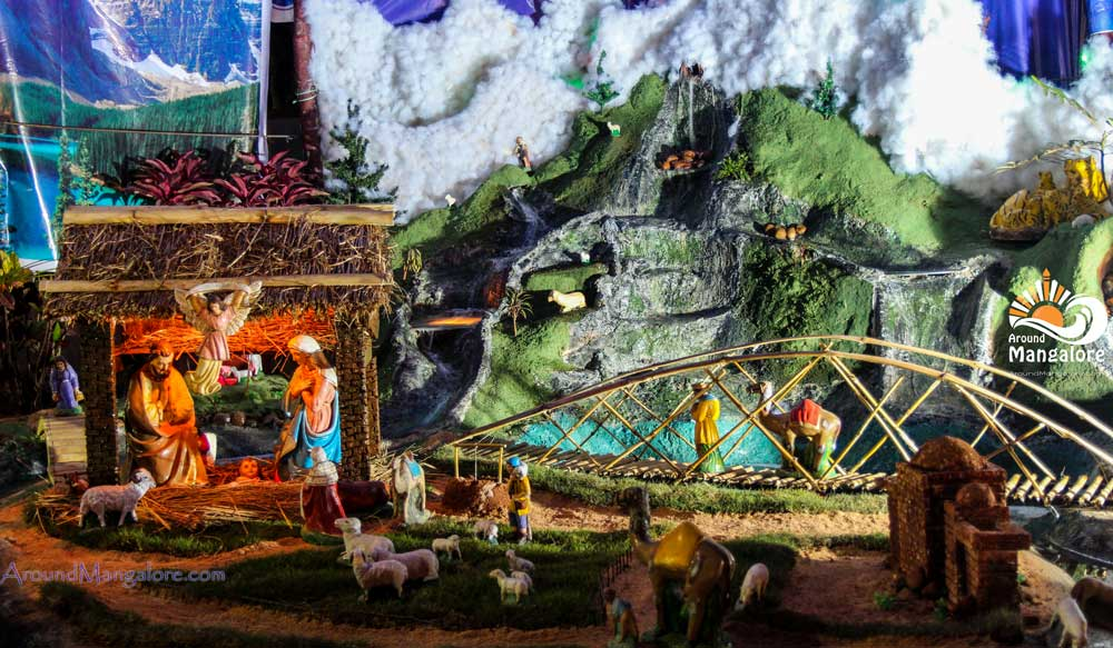 Christmas Crib – St Anthony's Poor Homes, Jeppu – Christmas 2016