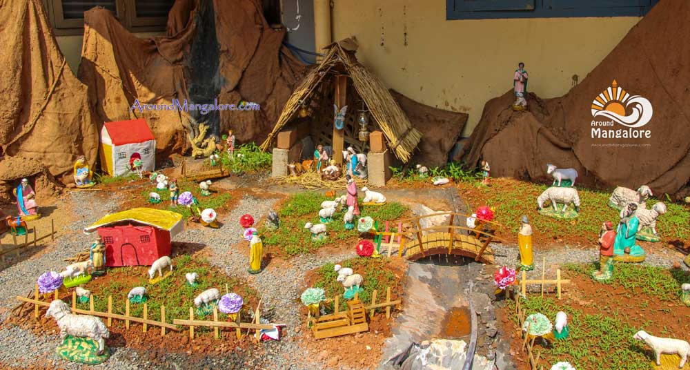 Christmas Crib - Capuchin Franciscans, Bejai - Christmas 2016