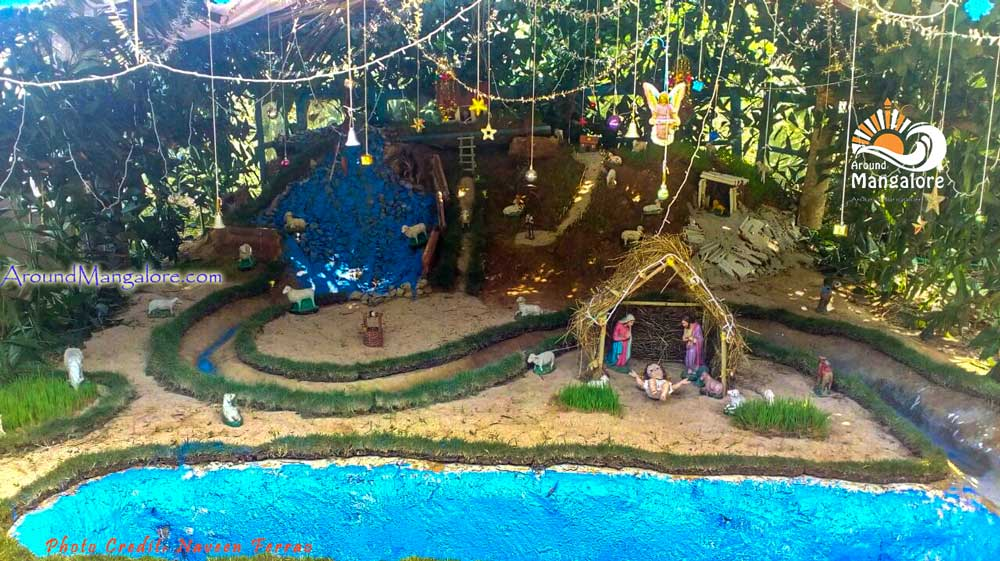 Christmas Crib - Infant Jesus Chapel - Pavoor Uliya - Christmas 2016