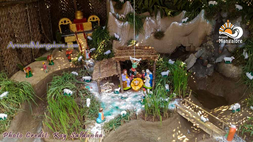 Christmas Crib - Our Lady Of Fathima Church - Christmas, Jarigekatte 2016