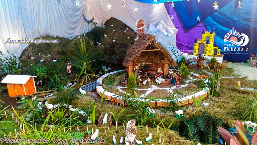 Christmas Crib - Our Lady of Remedies Parish, Kirem, Aikala - Christmas 2016