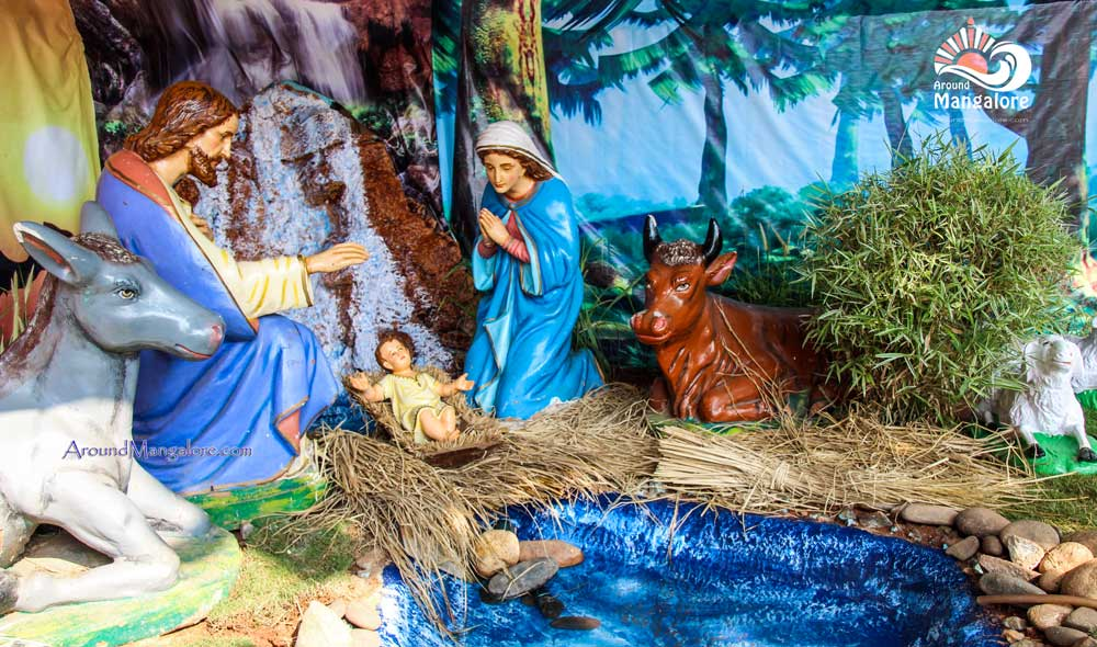 Christmas Crib - St. Joseph Church, Jeppu - Christmas 2016