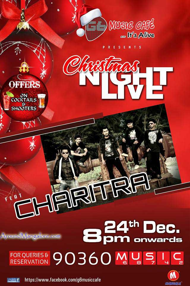 Christmas Night Live - 24 Dec 2016 - G6 Music Cafe
