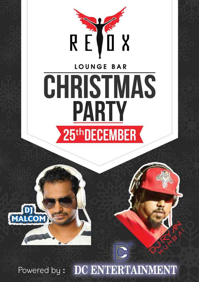 Christmas Party - 25 Dec 2016 - Retox Lounge Bar