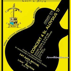 Concert 4 St Aloysius 17 - 07 Jan 2017 - Aloysius Centenary Ground, Mangalore