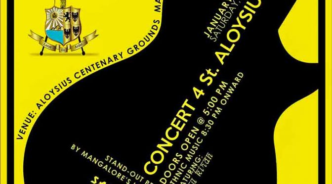 Concert 4 St Aloysius 17 - 07 Jan 2017 - Aloysius Centenary Ground, Mangalore