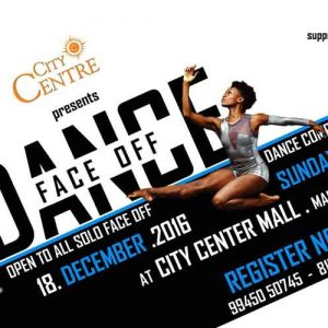 Dance Face Off - 18 Dec 2016 - City Center Mall, Mangalore