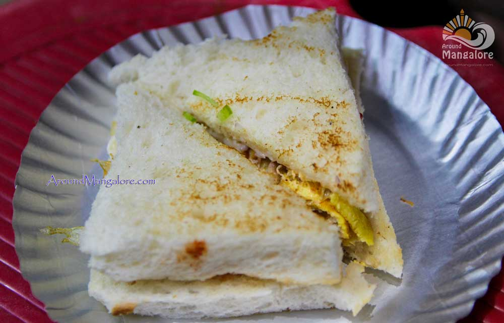 Egg Sandwich - Planet Cafe - Opp. City Center, Hampankatta, Mangalore