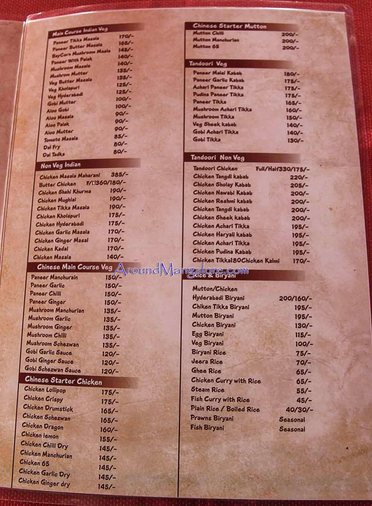 Dolphin family restaurant cocktail bar bejai around for Bar 88 food menu