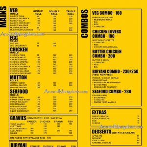 Food Menu Pronto Kitchen Mangalore P2 300x300 - Pronto Kitchen - Kebabs Grills Rolls Biryani
