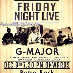 Friday Night Live - 09 Dec 2016 - Spindrift, Mangalore - AroundMangalore.com