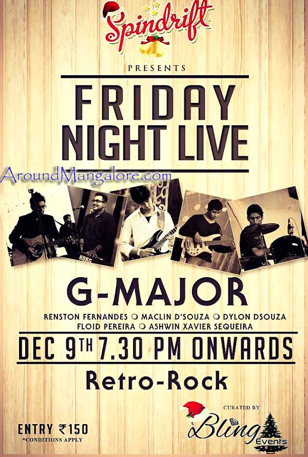 Friday Night Live - 09 Dec 2016 - Spindrift, Mangalore - AroundMangalore.com