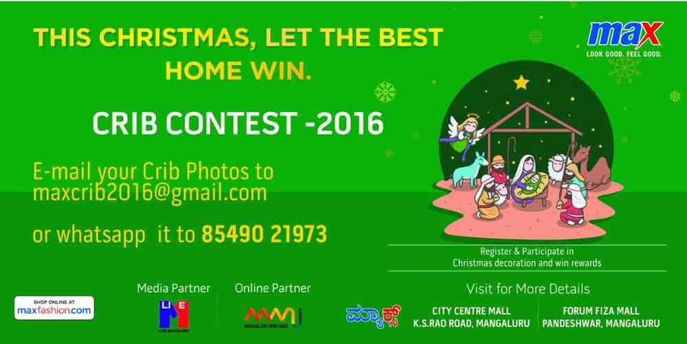 MAX CRIB CONTEST 2016 - Mangalore