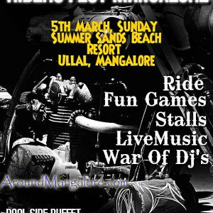 Moto Clownz Presents - Riders Fest Mangalore - 5 Mar 2017 - Summer Sands Beach Resort, Mangalore