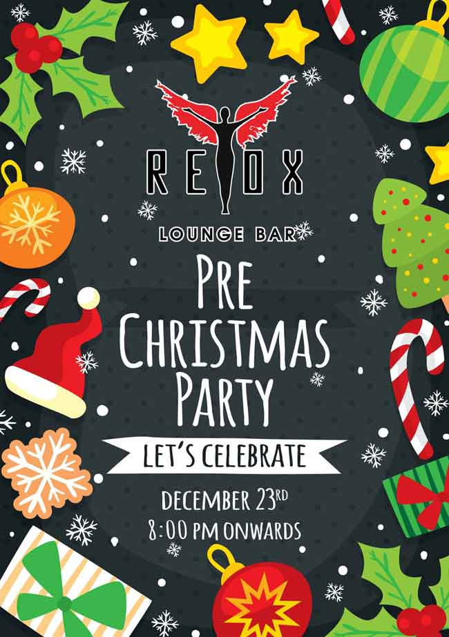 Pre-Christmas Party - 23 Dec 2016 - Retox, Mangalore