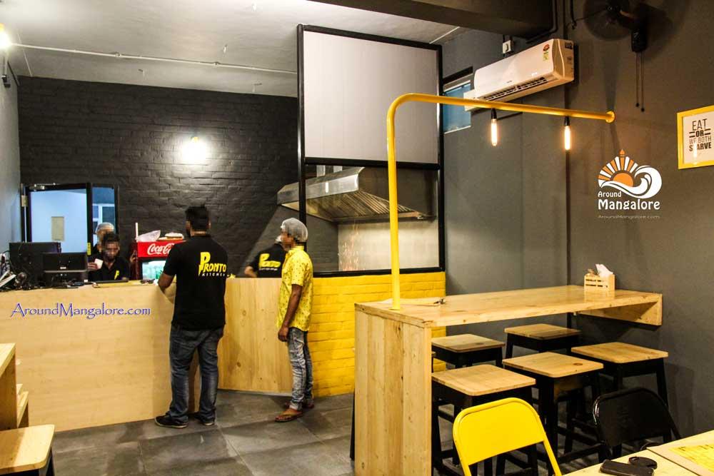 Pronto Kitchen - Kebabs Grills Rolls Biryani - Restaurant - Hamp