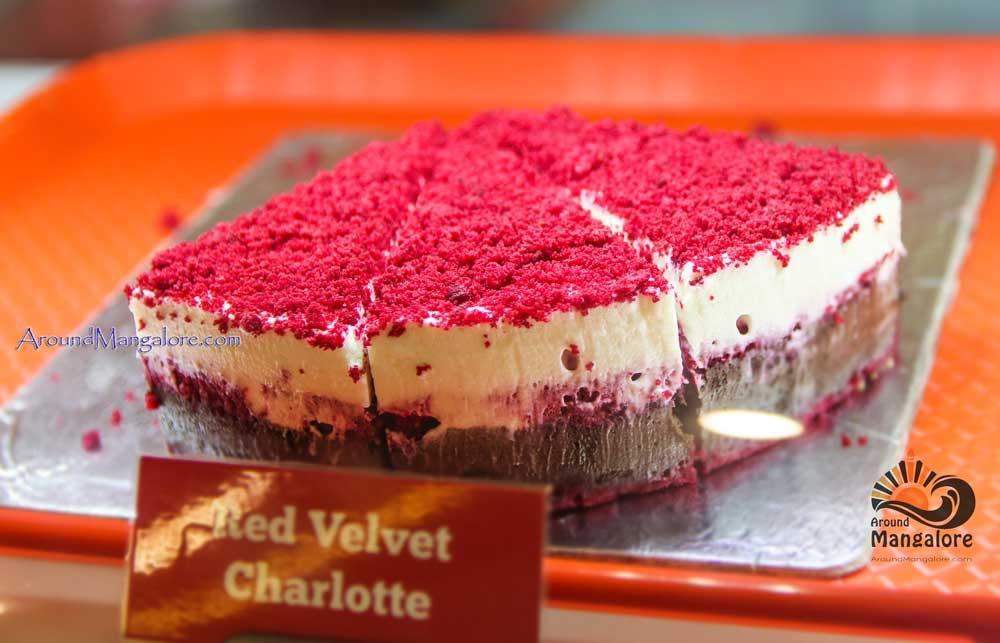 Red Velvet Charlotte - Crave - Desserts & Bakes - Bejai, Mangalore