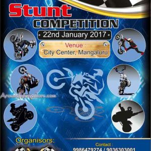 Stunt Competition - 22 Jan 2017 - Mangalore