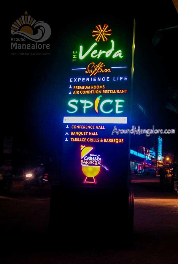 Terrace Grills & Barbeque - Spice Roof Top Restaurant - The Verda - Saffaron - Hampankatta, Mangalore