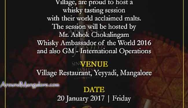 A Gentlemans Evening – 20 Jan 2017 – Village Restaurant