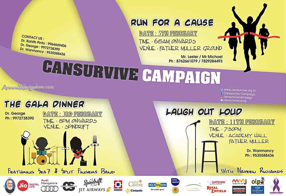 Cansurvive Campaign - 03-05-11 Feb 2017