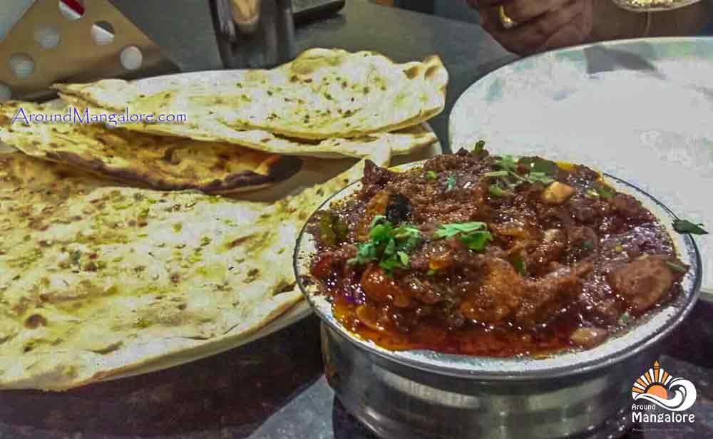 Chicken Handi & Butter Naan - Hotel Sai Deepa - Restaurant - Bejai, Mangalore