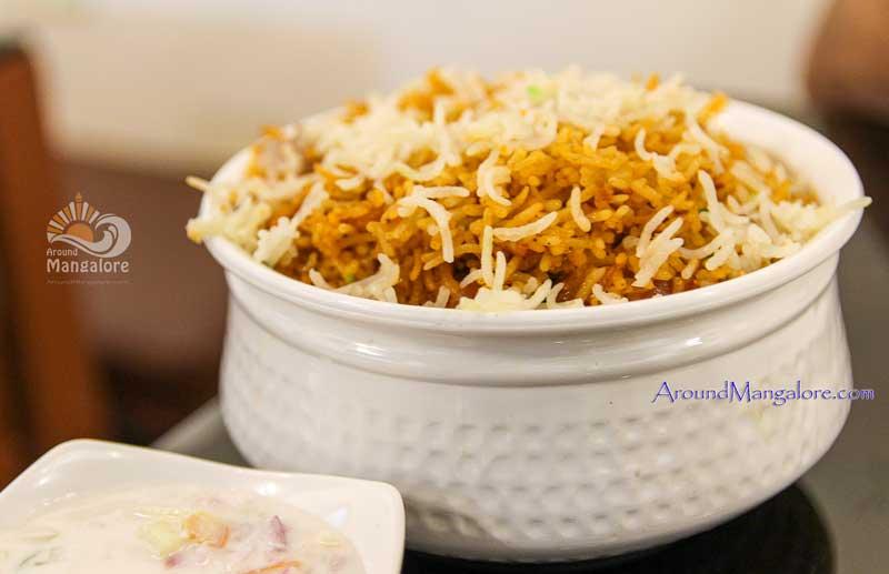 Chicken Tikka Biryani - Hotel Mughlai Kitchen - Valencia, Mangalore