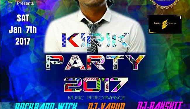 Kirik Party 2017 – 07 Jan 2017 – Country Club, Yekkur